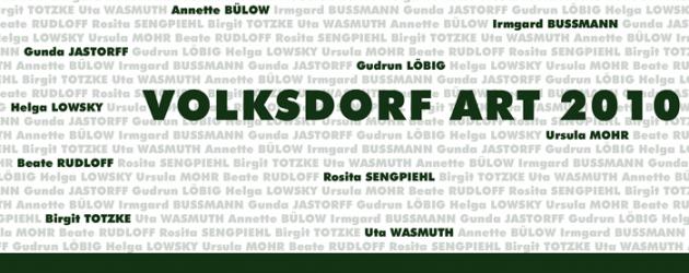 Ausstellung: Volksdorf Art 2010 ab 23.10.2010