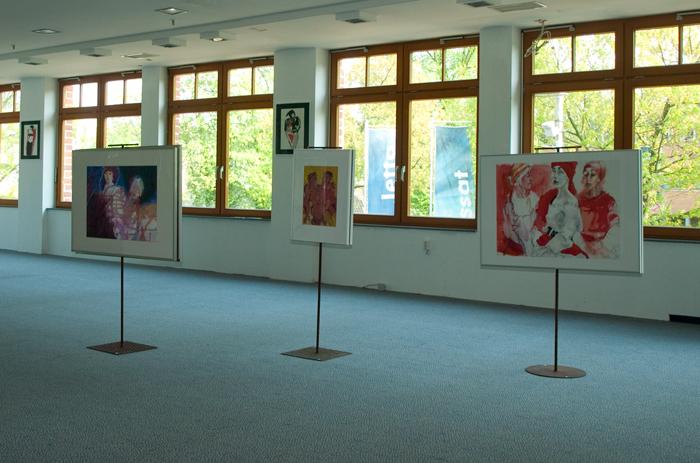 Art Von Foyer Kreuzwort : Ausstellung meisterkreis von fr prof weingärtner ab
